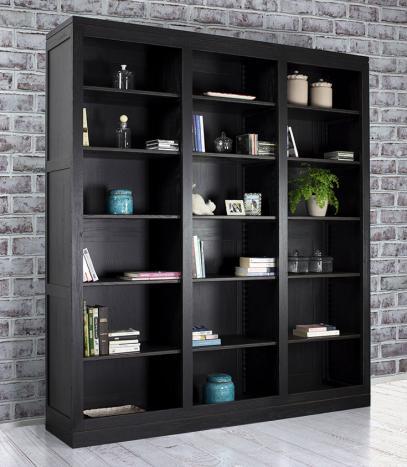 Librer a estanter a lucas estilo contempor neo en madera - Estanterias para librerias ...