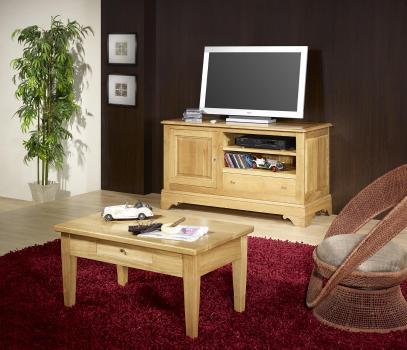 Mesa de centro Victory fabricada en madera de Roble macizo