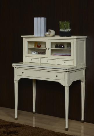 Secretaria estilo Francés Adèle fabricada en madera de cerezo macizo en estilo Directoire