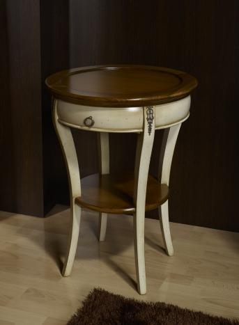Recibidor Adèle fabricado en madera de cerezo macizo en estilo Directoire