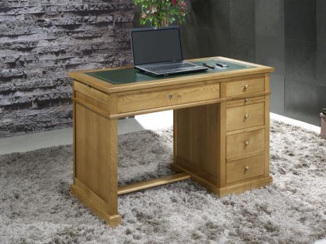 Mesa oficina escritorio luc con 4 cajones realizada en for Mesa escritorio con cajones