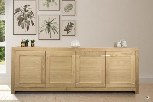 Aparador comedor Muebles de madera maciza, madera de roble y abedul