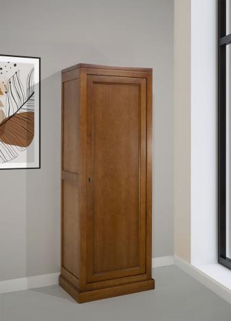 Armario Elodie fabricado en madera maciza de cerezo en estilo Contemporáneo